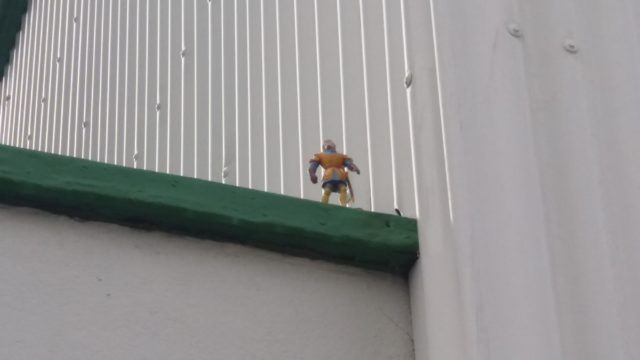 The Reykjavik toy spreader left this toy in a hard to reach place.