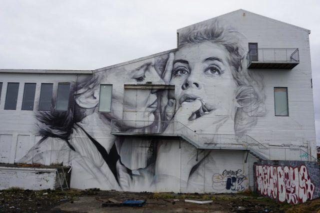 Graffiti image from Reykjavik.