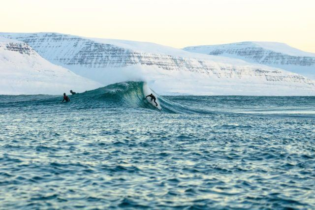 Surf´s up! Photo by Chris Burkard.