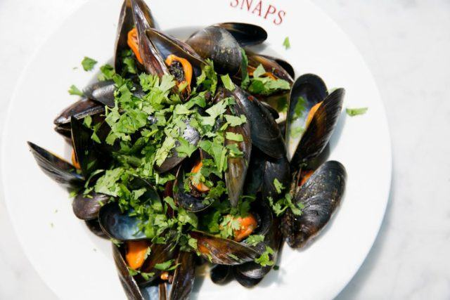 Lovely Icelandic Moules Frites