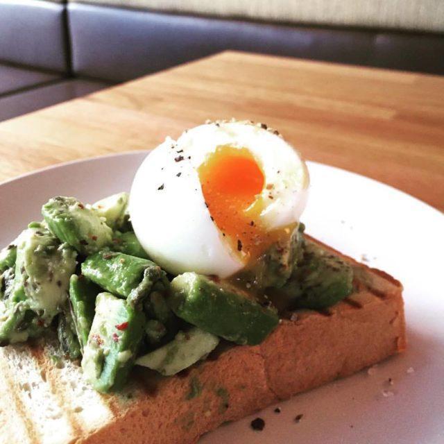 Scrumptious avacado toast!