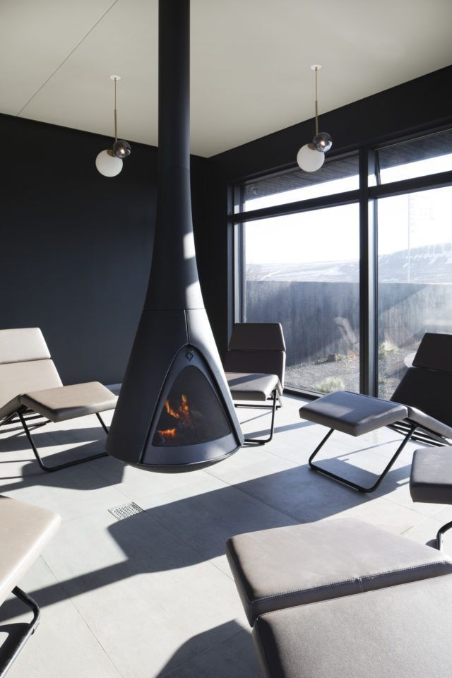 The most relaxing room in Iceland is at Krauma geothermal baths and spa.
