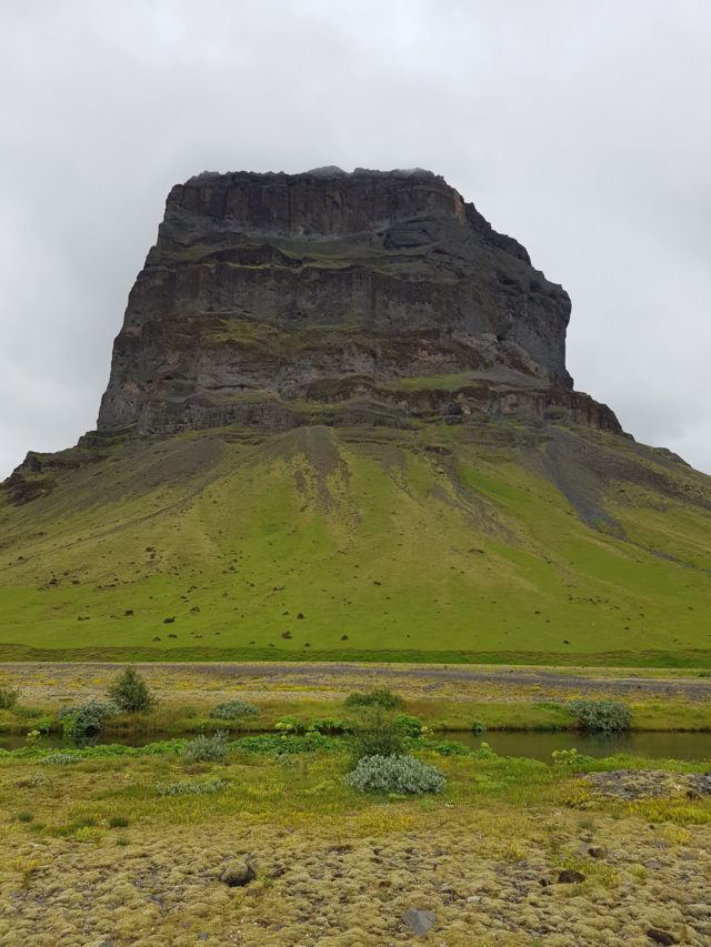 Mt. Lómagnúpur on the South Coast of Iceland.