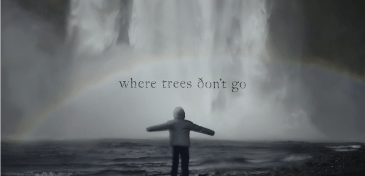 Title image for the short film Where Trees Don´t Go