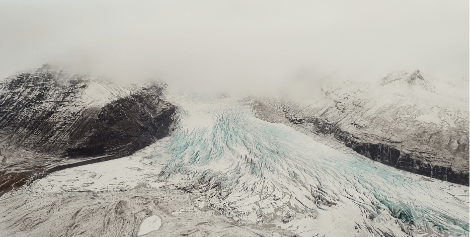 Svinafellsjökull glacier, south Iceland (frame from the short film where trees don´t go..
