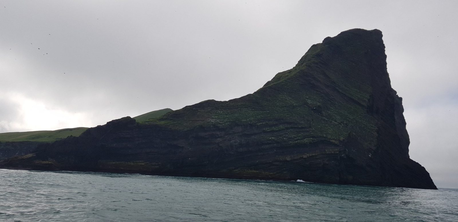 Elliðaey island - a part of the Westman Islands.