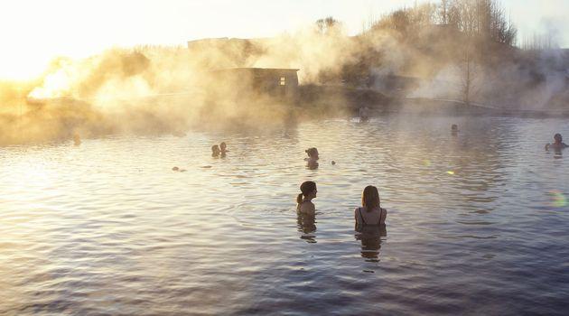 Soak in the Secret Lagoon.