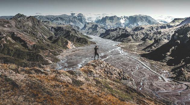 The magnificent Þórsmörk valley in Iceland.