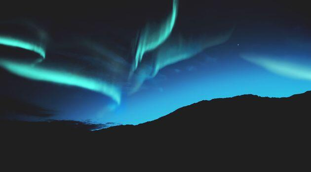 Northern Lights over Iceland. Northern lights forecasting is now available.