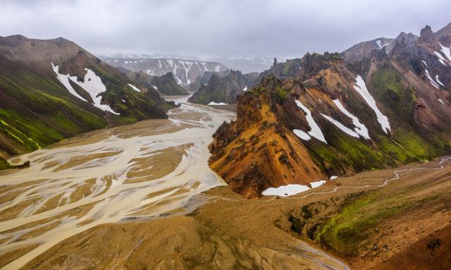 Beautiful colors of Landmannalaugar, Iceland. Photo by Tom A. Warner.