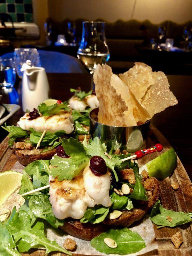 Icelandic gourmet food.