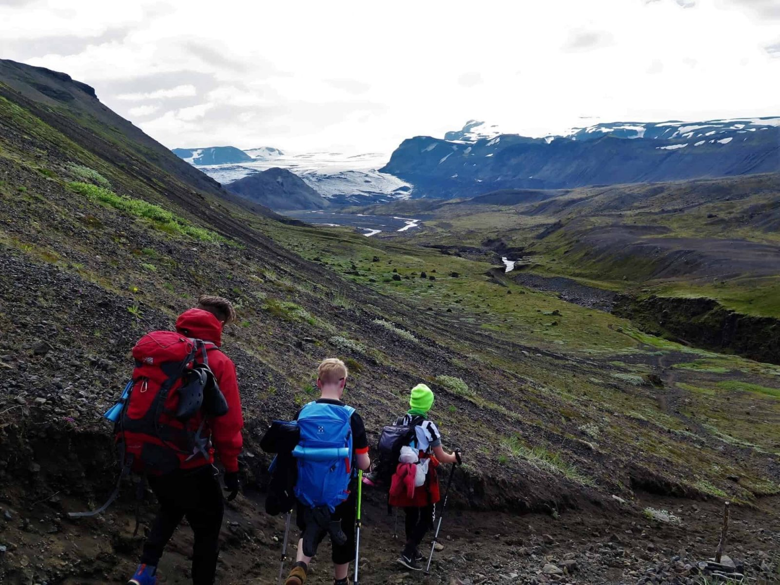 Laugavegur hiking trail takes top spot in the list of most popular hiking trails . If you are going on a hike like this, make sure you do detailed Iceland tour planning.in Iceland in 2018.