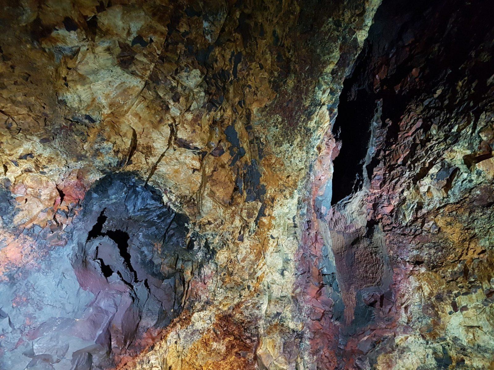 Thrihnukagigur magma chamber in Iceland.