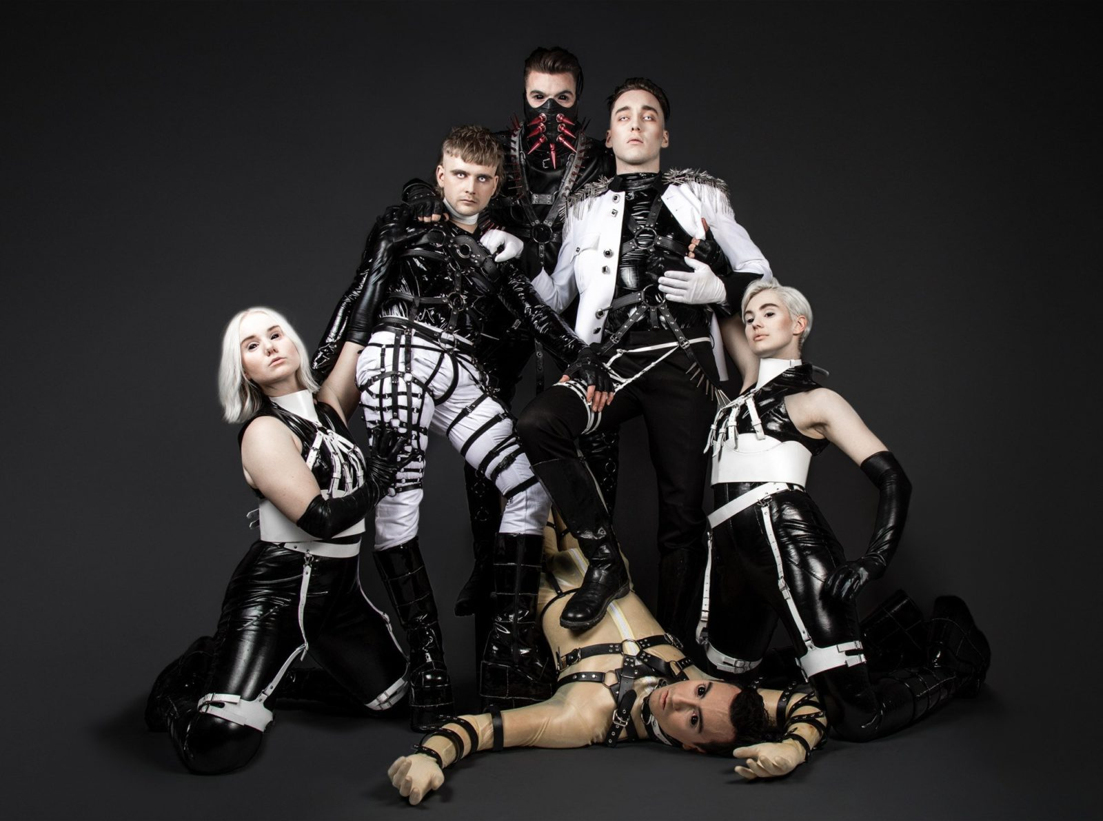 The Icelandic Eurovision superstars Hatari - Photo by Lilja Jóns.
