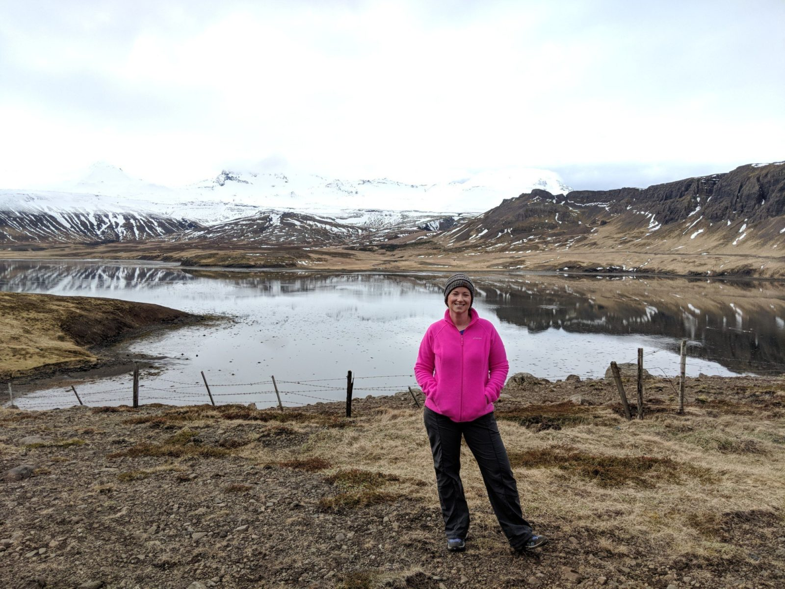 Woman in Iceland
