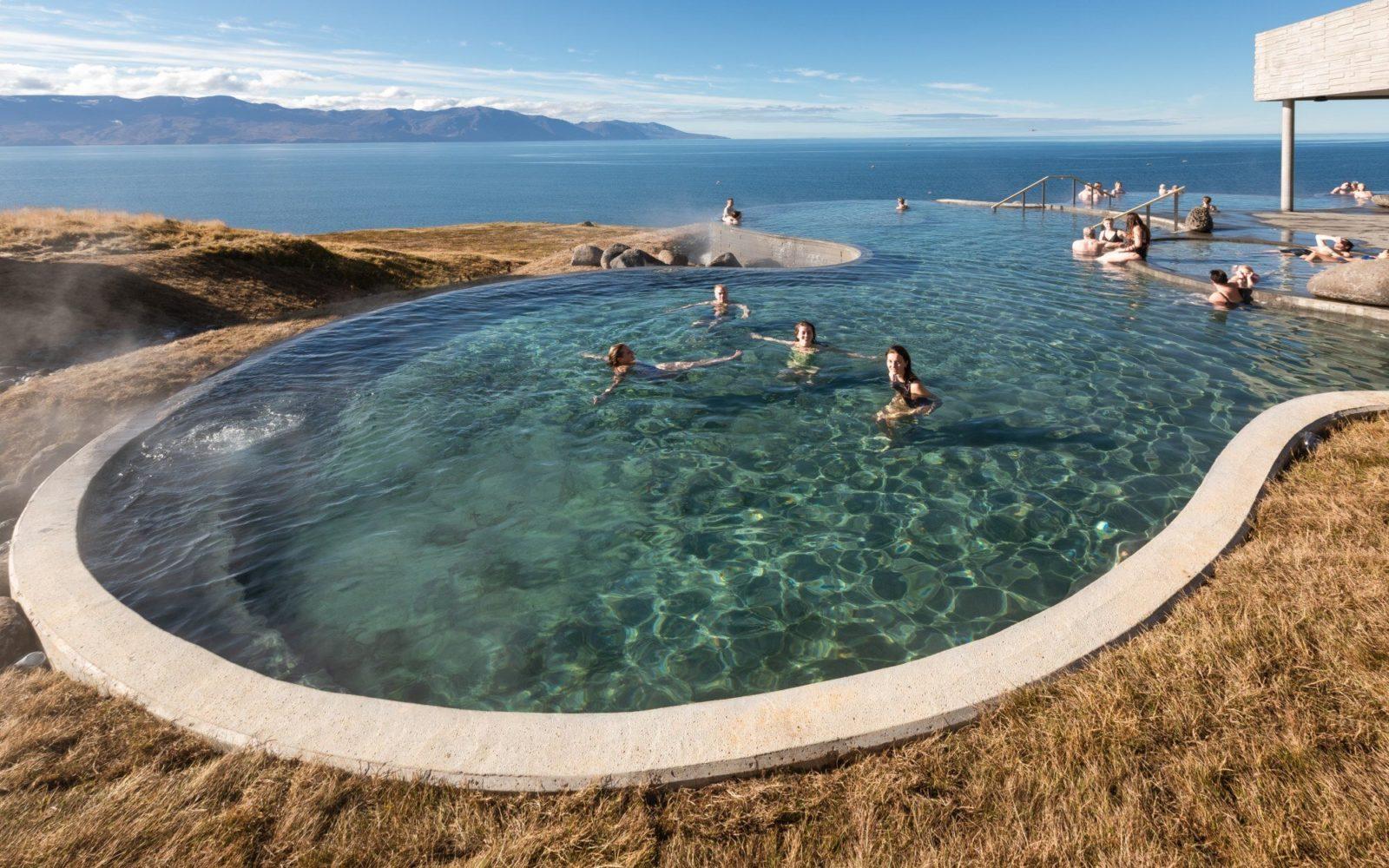 GeoSea Baths in Húsavík in Iceland